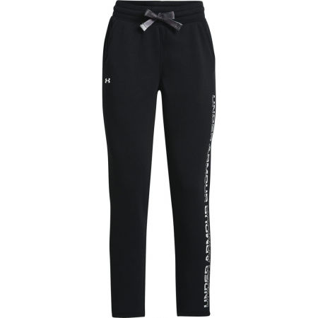 Under Armour RIVAL FLEECE GRDIENT PANT - Pantaloni de trening damă