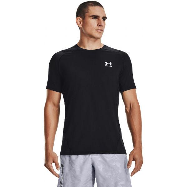 Under Armour HG ARMOUR FITTED SS  3XL - Pánské triko s krátkým rukávem