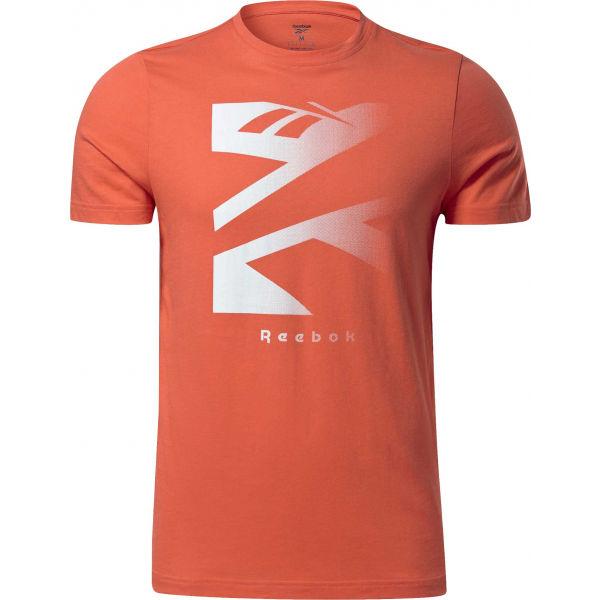 Reebok VECTOR FADE SHORT SLEEVE TEE  2XL - Pánské tričko