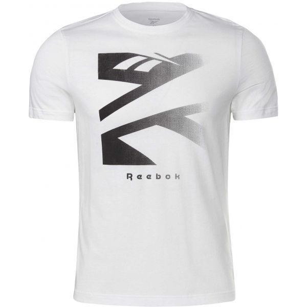 Reebok VECTOR FADE SHORT SLEEVE TEE  XL - Pánské tričko
