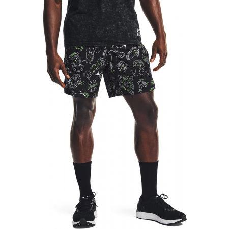 Мъжки къси панталони - Under Armour RUN UR FACE OFF SHORT - 4