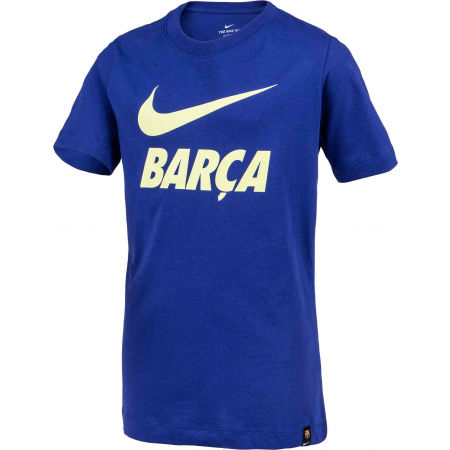 Boys' football T-shirt - Nike FC BARCELONA TEE JNR - 2