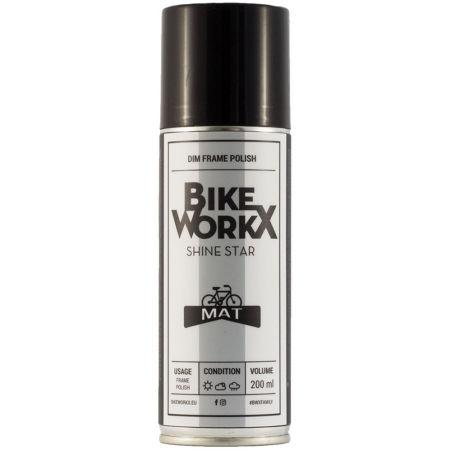 Bikeworkx SHINE STAR MAT 200ml - Bike polish for matte frames