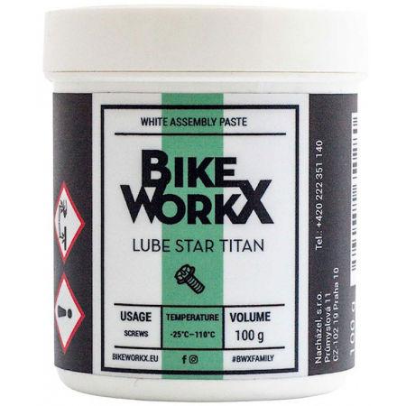 Bikeworkx LUBE STAR TITAN 100g - Pastă de montaj