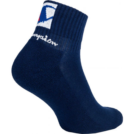 Unisex socks - Champion ANKLE SOC DOUBLE LOGO X3 - 3