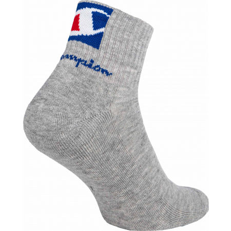 Unisex socks - Champion ANKLE SOC DOUBLE LOGO X3 - 5