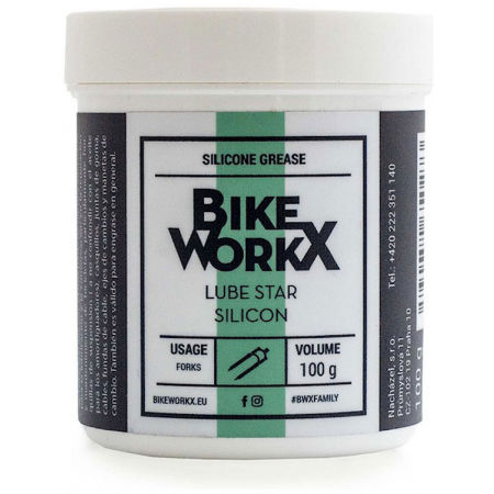 Bikeworkx LUBE STAR SILICON 100 g - Силиконова паста