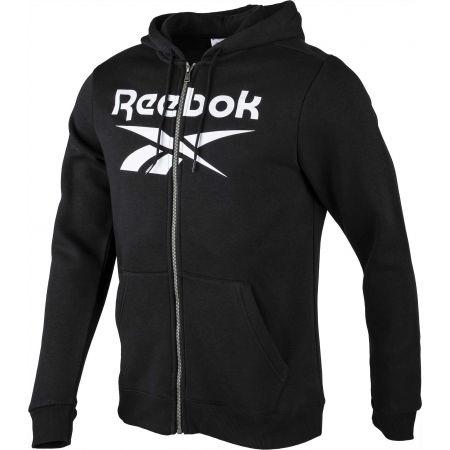 Hanorac pentru bărbați - Reebok FLEECE FULL-ZIP HOODIE M - 2