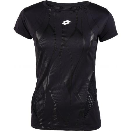 Lotto VABENE W IV TEE PRT 3 PL - Дамска фитнес тениска