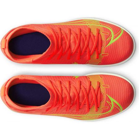 Obuwie piłkarskie halowe dziecięce - Nike JR MERCURIAL SUPERFLY 8 CLUB IC - 4