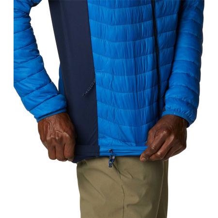 Men's hybrid jacket - Columbia POWDER PASS HOODED JACKET - 6