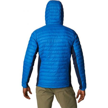 Men's hybrid jacket - Columbia POWDER PASS HOODED JACKET - 4