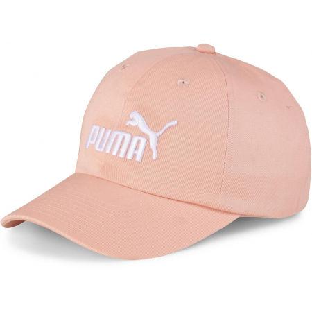 Puma ESS CAP JR PNK - Detská šiltovka