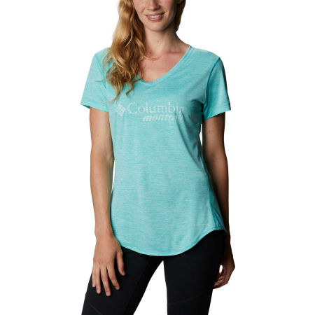 Columbia W TRINITY TRAIL GRAPHIC TEE - Women's sports T-shirt