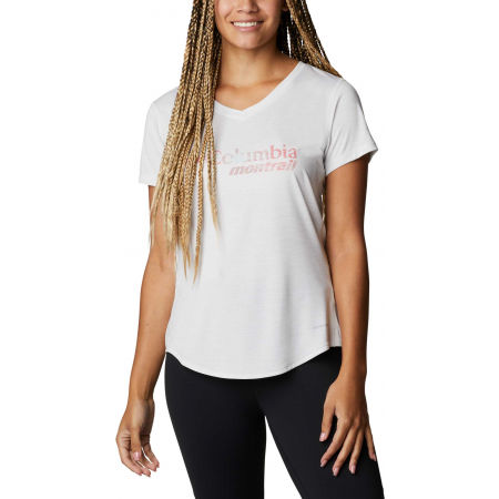 Columbia W TRINITY TRAIL GRAPHIC TEE - Dámske športové tričko