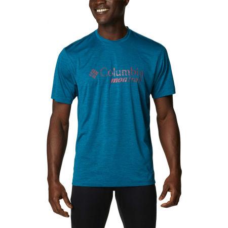 Columbia TRINITY TRAIL GRAPHIC TEE - Koszulka sportowa męska
