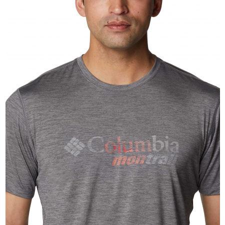 Koszulka sportowa męska - Columbia TRINITY TRAIL GRAPHIC TEE - 4