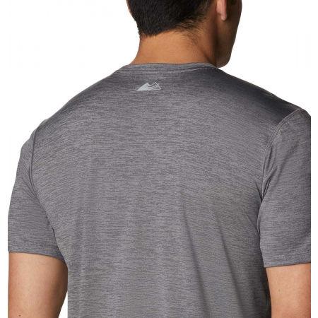 Koszulka sportowa męska - Columbia TRINITY TRAIL GRAPHIC TEE - 5