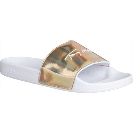 Tommy Hilfiger FEMININE TH POOL SLIDE - Дамски чехли