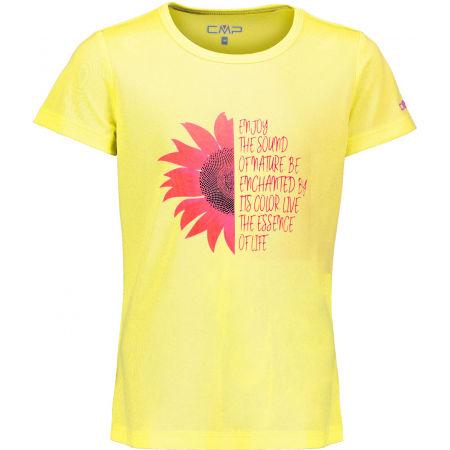 Dívčí funkční triko - CMP KID G T-SHIRT