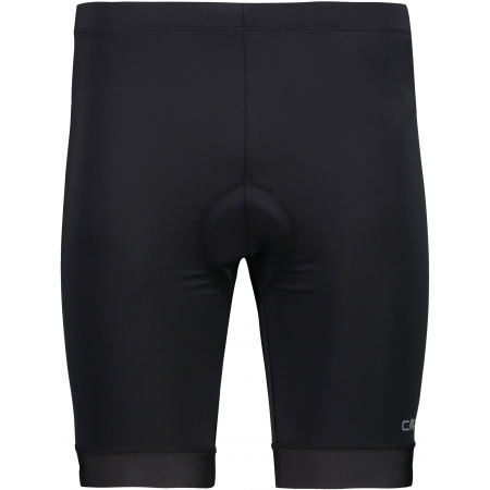 CMP MAN BIKE SHORTS WITH PADS GEL - Men's high waisted cycling shorts