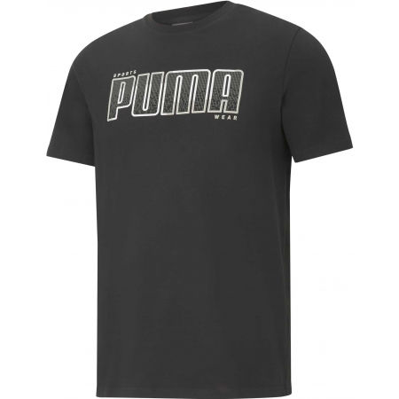 Puma ATHLETICS TEE BIG LOGO - Pánské triko