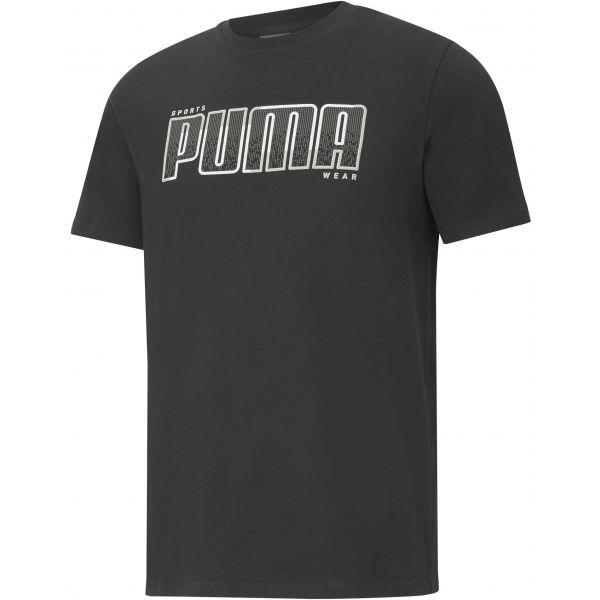 Puma ATHLETICS TEE BIG LOGO - Pánske tričko