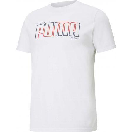 Puma ATHLETICS TEE BIG LOGO - Мъжка тениска