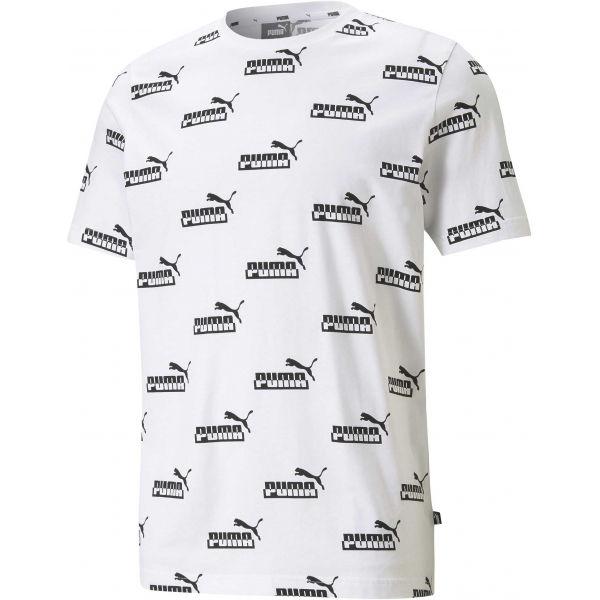 Puma AMPLIFIED AOP TEE - Pánske tričko