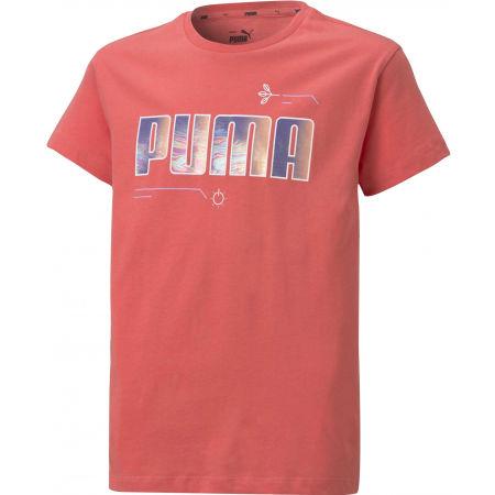Puma ALPHA TEE G - Girls' T-shirt