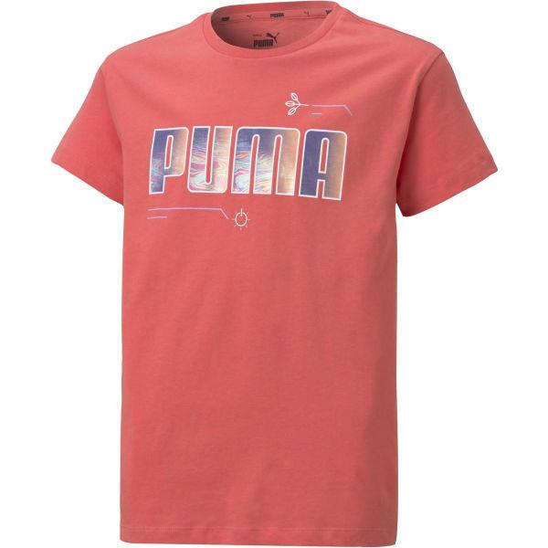 Puma ALPHA TEE G - Dievčenské tričko