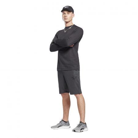 Men's shorts - Reebok TE MELANGE SHORT - 4