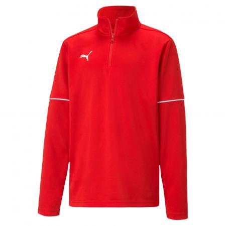 Puma TEAMGOAL 1 4 ZIP TOP CORE JR - Boys' sweatshirt