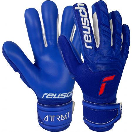 Reusch ATTRAKT FREEGEL SILVER - Футболни ръкавици
