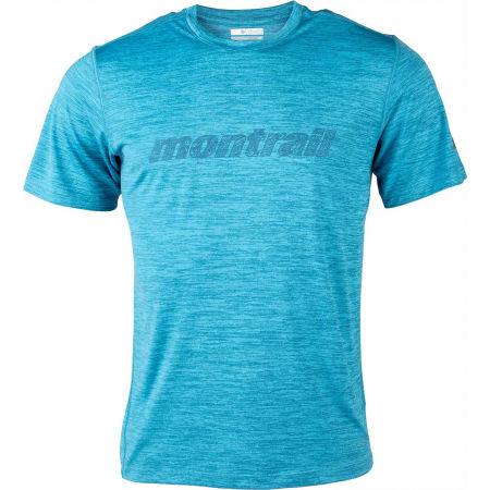 Koszulka sportowa męska - Columbia TRINITY TRAIL GRAPHIC TEE - 1