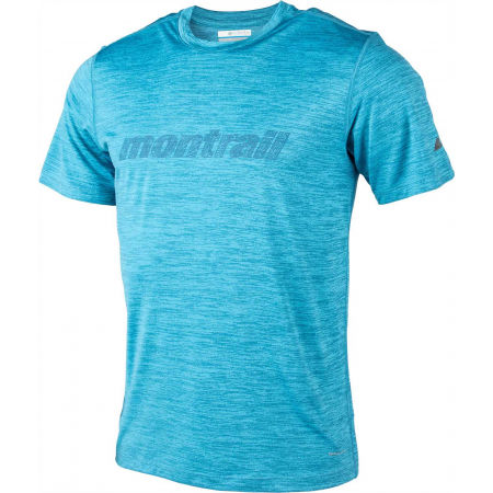 Koszulka sportowa męska - Columbia TRINITY TRAIL GRAPHIC TEE - 2