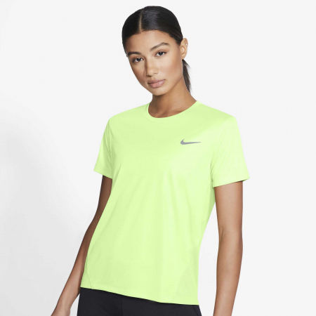 Дамска тениска - Nike MILER TOP SS - 3