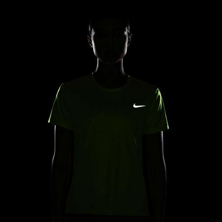 Дамска тениска - Nike MILER TOP SS - 5