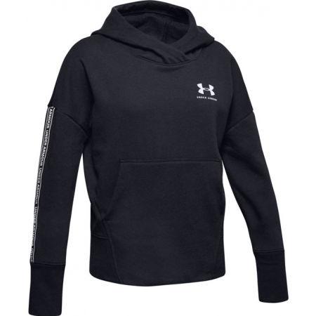 Under Armour SPORTSTYLE FLEECE HO - Girls' sweatshirt