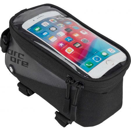 Arcore TOP FRAME BAG PHONE - Cyklo brašna na rám s pouzdrem na telefon