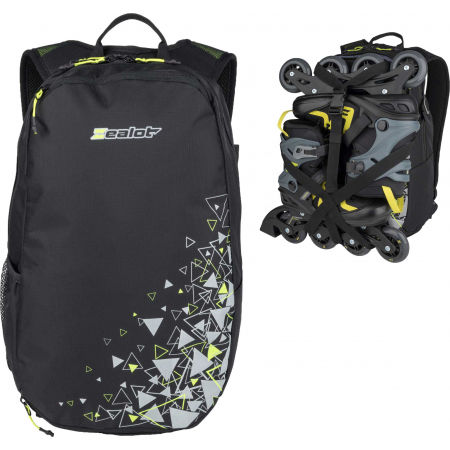 Zealot FALCON 25 - Backpack with an option to attach inline skates