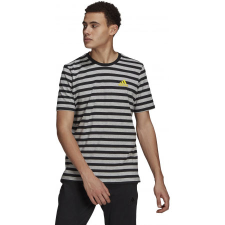 adidas STRIPY SJ TEE - Tricou de bărbați