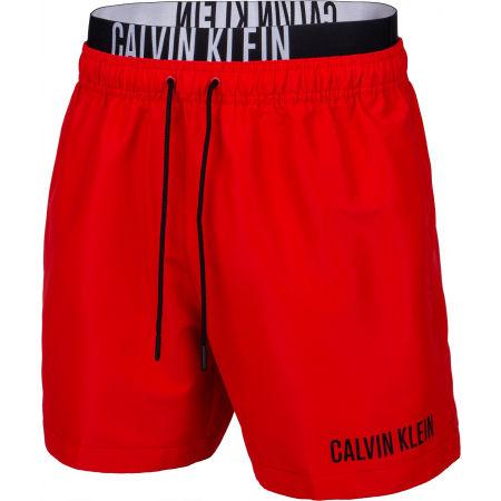 Calvin Klein MEDIUM DOUBLE WB - Szorty kąpielowe męskie