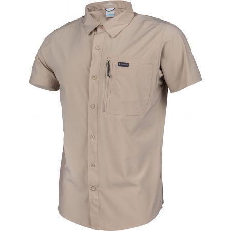 Koszula męska - Columbia TRIPLE CANYON SOLID SHOR - 2