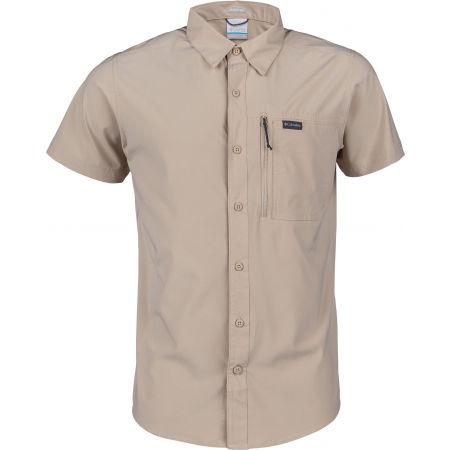Koszula męska - Columbia TRIPLE CANYON SOLID SHOR - 1