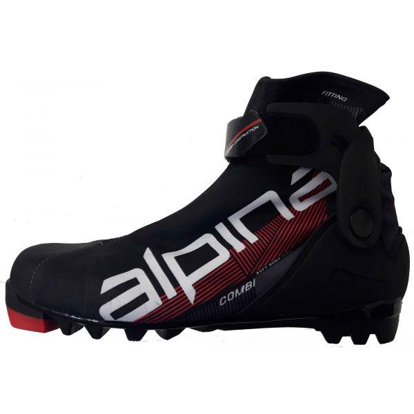 Alpina N COMBI JR - Juniorská kombi lyžiarska obuv na bežky