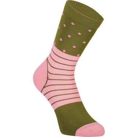 MONS ROYALE ALL ROUNDER CREW - Dámské technické merino ponožky