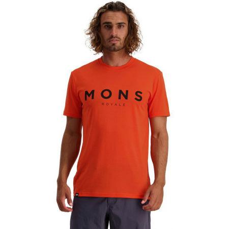 MONS ROYALE ICON - Pánské triko z merino vlny