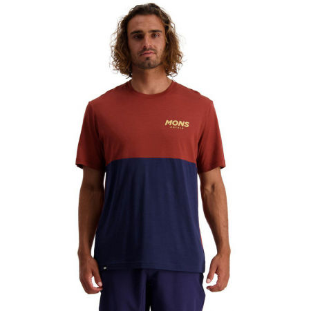 MONS ROYALE TARN FREERIDE - Мъжка велосипедна тениска