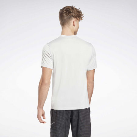 Мъжка тениска - Reebok WORKOUT READY MELANGE SS TECH TEE - 4